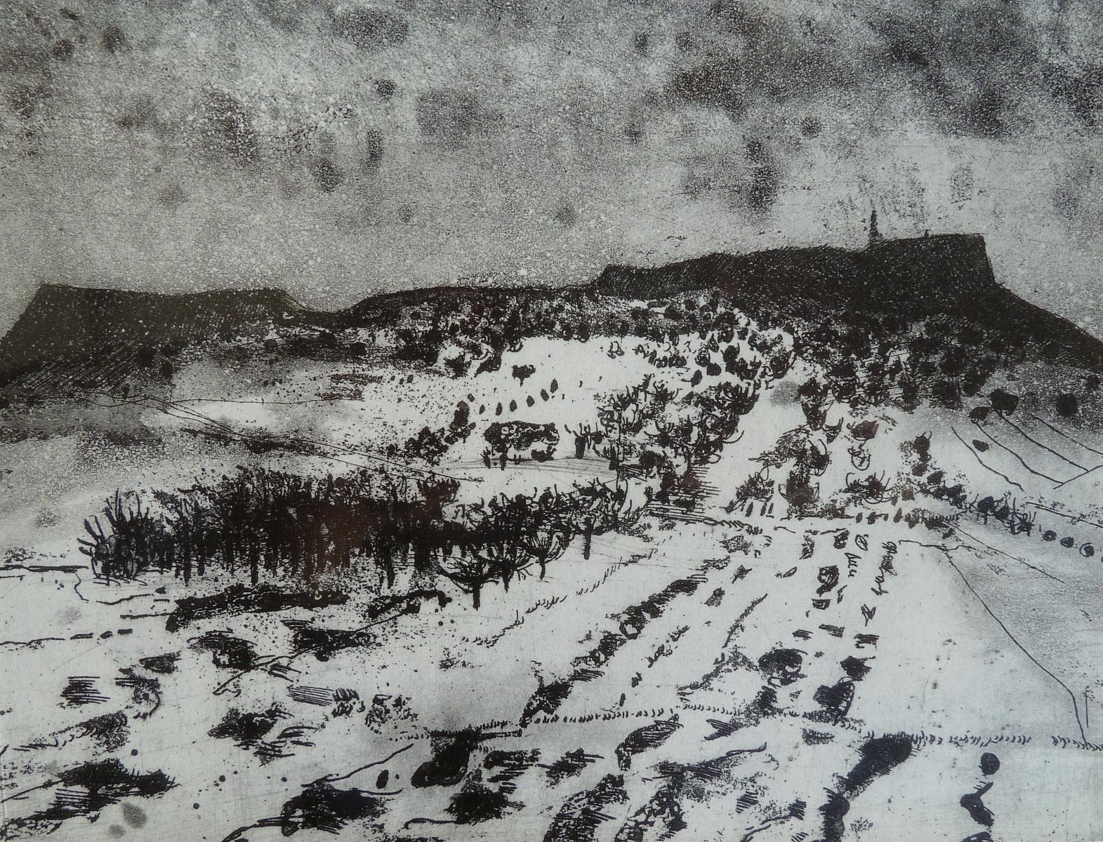 Les Monts Métallifères enveloppe CASQUETTE-BONNET-brodé